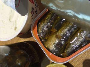 Rillettes de sardines au fromage frais