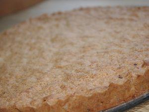 Gâteau aux noix toastées