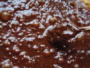 Cake fondant au chocolat noir de Josée