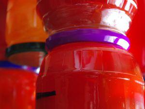 Fruits confits colorés