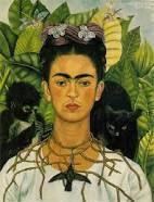 Quelques femmes artistes célèbres : Frida Kahlo (1907-1954),Niki de Saint Phalle (1930-2002), Berthe Morisot (1841-1895), Camille Claudel (1864-1943)