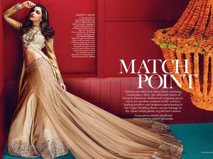 indian actress Deepika Padukone - VOGUE INDIA