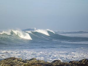 tempête en Bretagne - janvier 2014