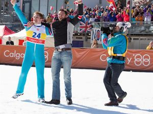 MATCH DES CRITIQUES: &quot&#x3B;EDDIE THE EAGLE&quot&#x3B;, PAR VALENTIN