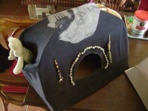 Dôme pour tente à chats 12€