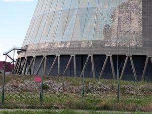 La centrale Nucléaire de Cruas-Meysse. Cliquez pour agrandir! / АЭС города Cruas-Meysse. Жмите на картинку, чтобы увеличить!