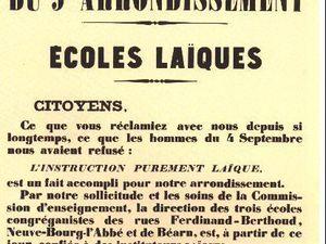 La loi Debré de janvier 1959 a piétiné la loi 1905 sur la séparation de l'église et de l'Etat.