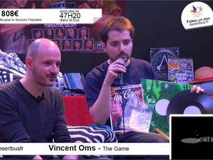 Vincent Oms journaliste à the Game tait un des nombreux invités.Médoc et Moguri animateur tv sur Nolife étaient également présents.