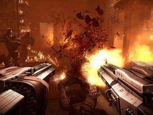 Fun et sanglant Wolfenstein est vraiment un FPS à part. Ca change des jeux aseptisés tel que Call of Duty  par exemple.