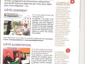 Le magazine de l'association &quot&#x3B;debout&quot&#x3B; !