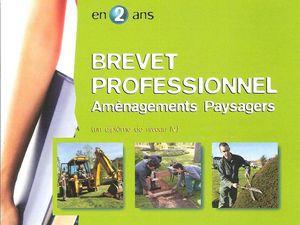 Fiche Formation BP Aménagement Paysagers