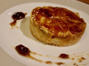 Tartelette-Tourte au boudin blanc et truffes...