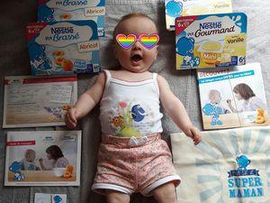 Campagne les laitages spécial bébé de Nestlé