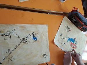 Arts visuels / Géographie - Classe de 3ème année