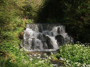 Les cascades du château de la Batisse.