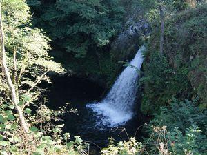 La cascade Ste-Elisabeth