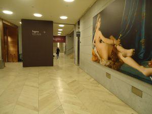 Le Prado le jour, aux couleurs françaises de INGRES