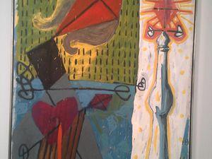 "Ci-dessus, ""Babylon - dithyrambique II"", 1975"