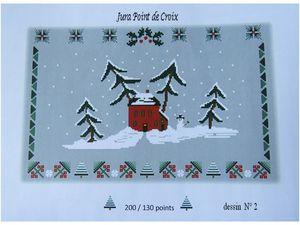 Le défi de Noël de Jura Point de Croix