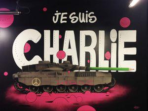 Je suis Charlie / Beats - Gris1