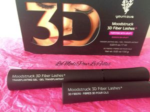 Revue: Moodstruck 3D Fiber Lashes de Younique