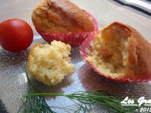 Recette : Muffins salés italiens (tomate, olive, parmesan)