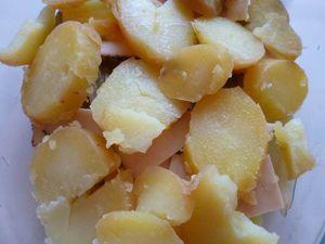 endives et pommes de terre au gratin -LIGHT-