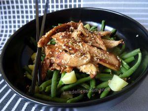 poulet sauté au sésame et sauce soja -LIGHT-