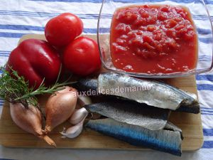 Sardines aux tomates