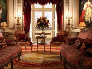 buckingham palace (the royals) : tout les personnages principaux ou presque habitent au palais