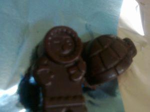 Chocolats maison ganache au thé