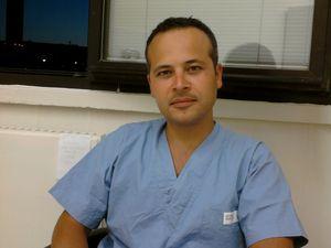 A sin. il dott. Maurizio Saturno&#x3B; a destra un'immagine di Ciacco