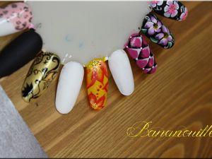 Nail Art &quot&#x3B;fleurs vitaminées&quot&#x3B;