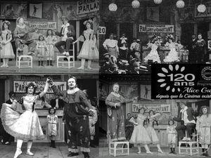 Gaumont 120 ans &#x3B; Alice Guy depuis que le cinéma existe.