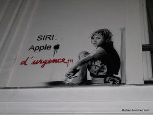 Fresques, peintures pochoirs et stickers àParis, Tbilissi Bruxelles et Lisbonne