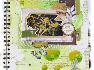 Carnet d'artiste &quot&#x3B;Nature&quot&#x3B;