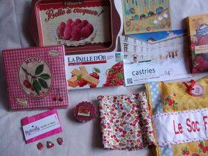 4emeLe Sac reçu * Fruits Rouges * 263 *