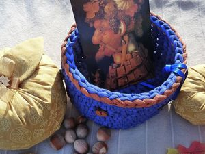 Ce que j'ai envoyé a Yvette :)  et merci Yvette pour  ses beaux cadeaux !! * SWAP Automne * &quot&#x3B;dans ma cuisine déco d'Automne..&quot&#x3B;