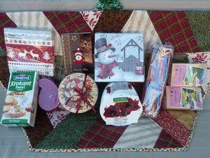 * échange de cadeaux *   Nanou et  moi  * swap de Noël *