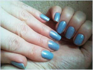 Vernis Flocons collection &quot&#x3B; Partons en Laponie &quot&#x3B; de LM cosmetic....