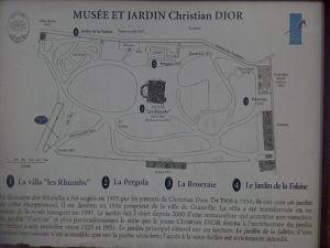 Le jardin de Christian Dior....en Vidéo....