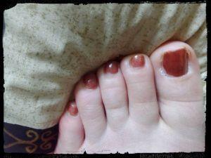 Beauté des pieds Holo Fleuri avec Née Jolie....