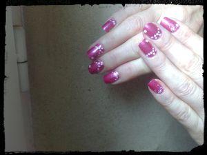 Nail Art Octobre Rose....
