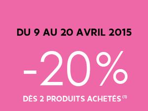 Brève : -20% chez Sephora
