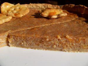 Tarte à la citrouille épicée (pumpkin pie)
