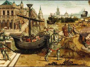 L'Amant infortuné - François Habert - Xvie s. - Thésée et le Minotaure Maître des Cassoni Campana (début 16e siècle)