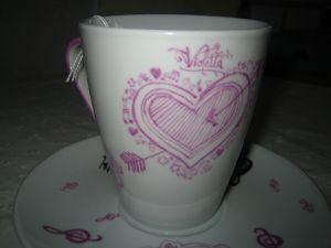 tasse à déjeuner &quot&#x3B;violetta&quot&#x3B; 2