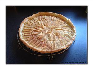 Tarte aux pommes rapide à la cannelle