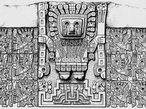 Porte du soleil de Tiahuanaco