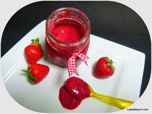 Aile de raie au ketchup de fraise